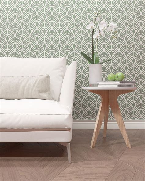 floral pattern stencil modern decor wall stencil leafs pattern stencil for wall decor
