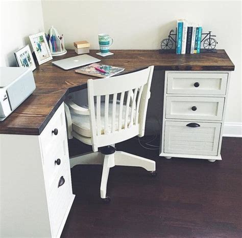 corner desk ideas best 25 rustic desk ideas on rustic computer