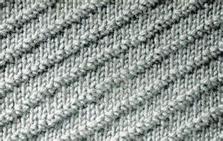 diagonal knitting stitch diagonal rib stitch knitting patterns