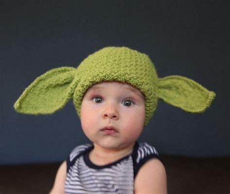 yoda knit hat baby yoda hat in green original knit wars by knitterkrys