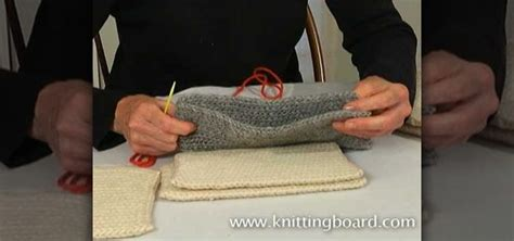 sewing knitted pieces together how to sew knitted pieces together using a whip stitch and