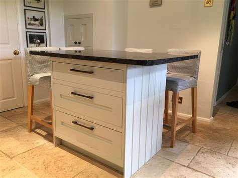 kitchen island free standing freestanding kitchen island 3 large draws complete with granite work surface in reading