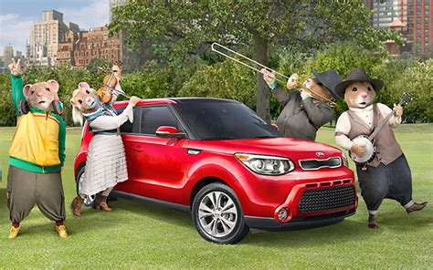 Kia Soul Hamster Commerical by Musical Hamsters Return For 2016 Kia Soul Commercial W