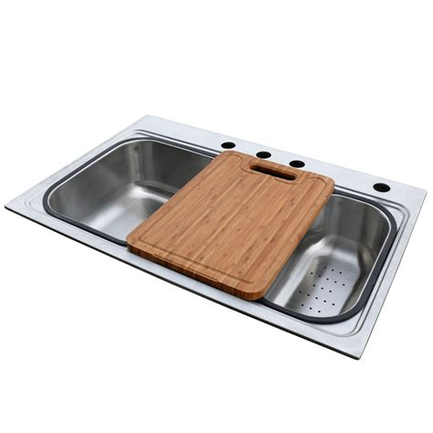 american standard stainless steel kitchen sinks shop american standard single basin drop in stainless