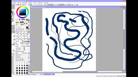 paint tool sai sensitivity not working pressure sensitivity in paint tool sai
