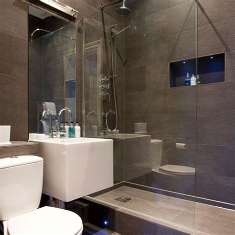 modern gray tile bathroom modern grey bathroom hotel style bathrooms ideas