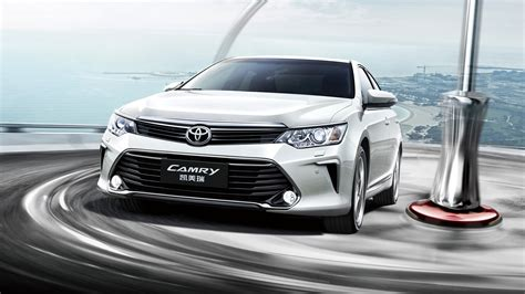 Car Wallpaper Front View by Toyota Camry 10th Anniversary Car Front View And Speed 4k