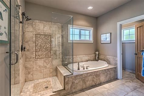 master bathroom with walk in shower gorgeous master bath large walk in shower glass