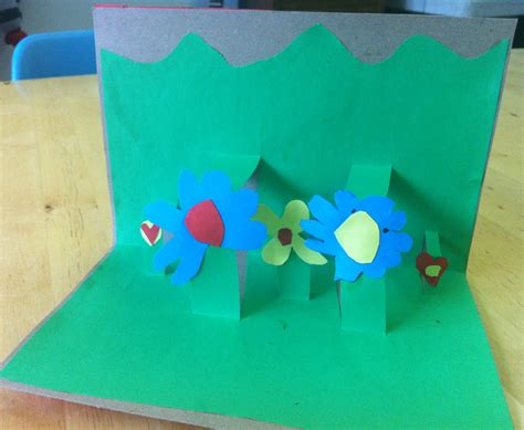 pop for toddlers diy pop up flower garden cards babyccino daily tips