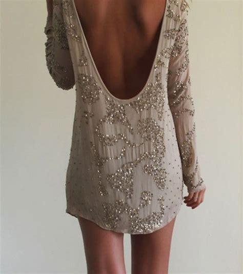low back beaded dress dress beaded dress backless sequin dress prom dress