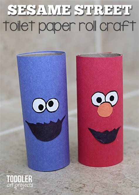 Toilet Paper You Monster by Craft Toilet Paper Roll Monsters For Kids Elmo And Cookie