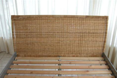 wicker bed frame obo ikea wicker bed frame city