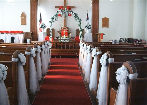 church decorating ideas for church wedding decoration add blessedness to your