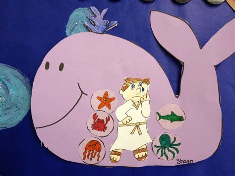 jonah crafts for jonah and the whale apples and abc s