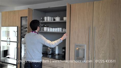 bulthaup b3 kitchen pocket door youtube
