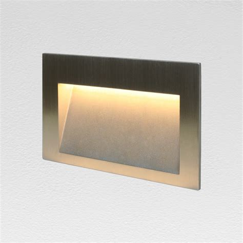 recessed garden wall lights flange 3w led garden wall lighting led wall l led
