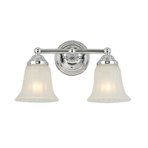 2 light bathroom vanity light hton bay 2 light chrome vanity light isr1392a 2 the