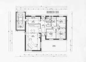 plan d maison moderne