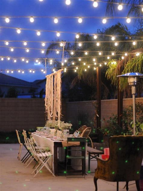 patio outdoor lights patio lighting ideas for your summery outdoor space