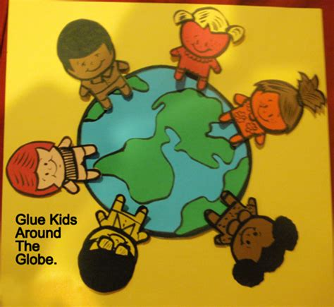 multicultural crafts for how to make a multicultural around earth craft for