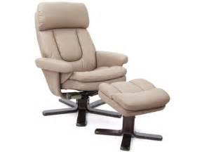 fauteuil relaxation repose pieds charles coloris taupe en pu vente de tous les fauteuils