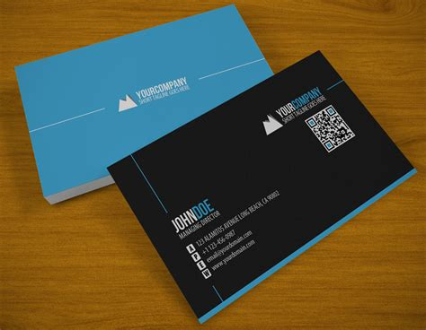 business card clean qr business card by samiyilmaz on deviantart
