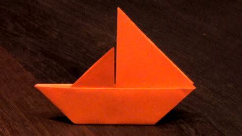 origami sail boat origami sail boat tutorial how to make an origami sail