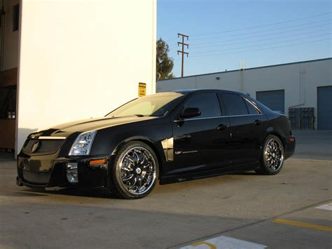 sts custom 2008 cadillac sts v photos informations articles