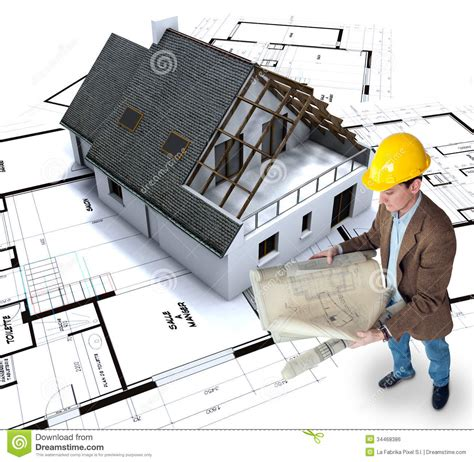 planning to build a house home building stock photo image of architecture model 34468386
