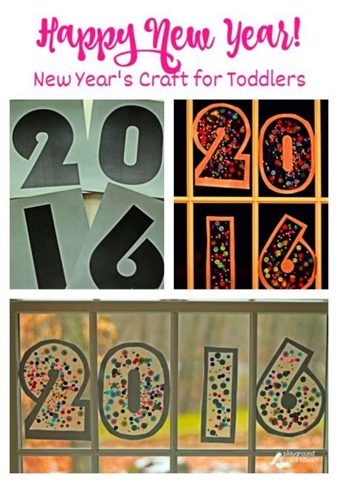happy new year crafts for new year s craft for toddlers