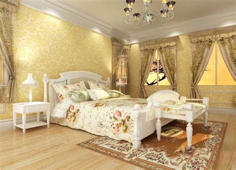 light yellow bedroom pale yellow walls white furniture bedroom 3d house free