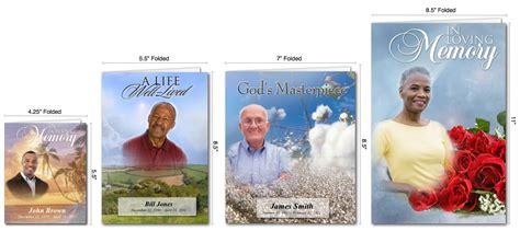 make your own memorial cards free create obituary program using obituary template pdf