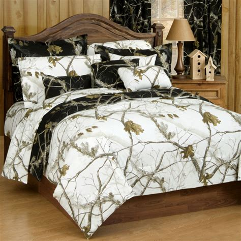 size camo bed set ap black and white camo comforter set free shipping
