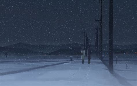 centimeters per second anime 5 centimeters per second wallpaper