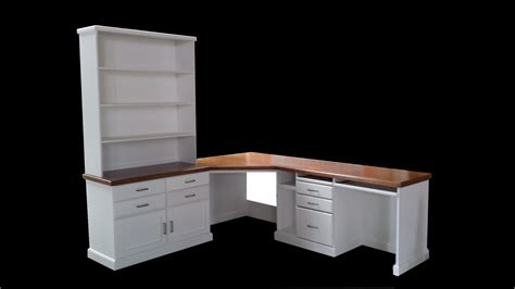 white corner desk hutch custom large corner desk hutch
