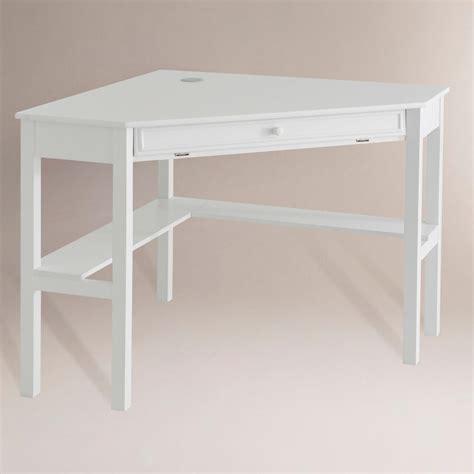 white corner desks for home duncan corner computer desk white world market
