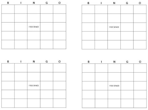 how to make a bingo card in excel build a bingo board bets
