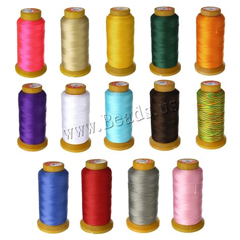 silk beading thread new arrival jewelry cord thread silk beading thread
