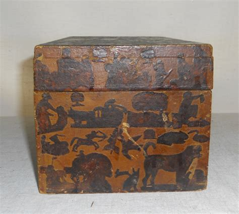 decoupage boxes for sale early 19th century late 18th century decorated decoupage