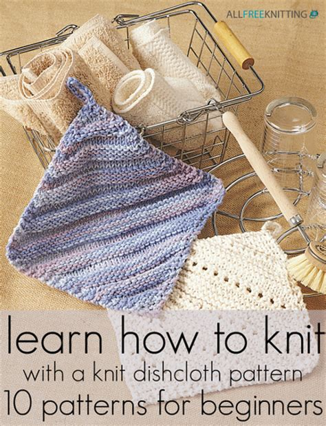 easy knitting dishcloth patterns for beginners learn how to knit with a knit dishcloth pattern 10
