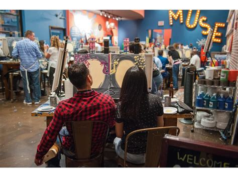 Muse Paintbar Uncorks In Garden City Garden City Ny Patch