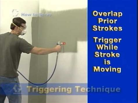 spray painter for interior walls how to spray helpful tips before using your paint sprayer