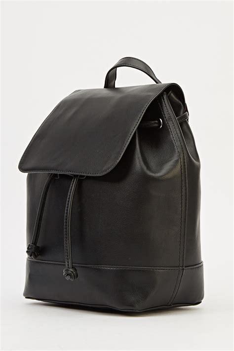 black leather backpacks black faux leather backpack just 163 5