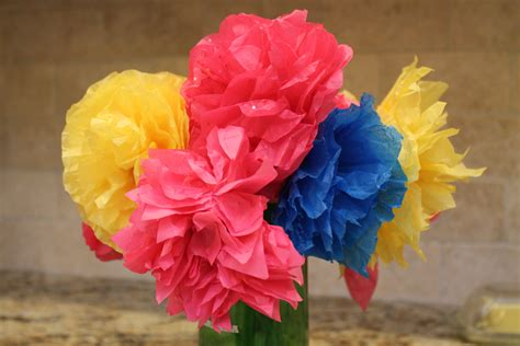 how to make from flowers how to make colorful paper flowers for