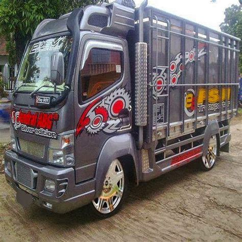 Modifikasi Mobil Truk by Modifikasi Mobil Truk Hino Lohan Dutro Ceper Terbaru 2018
