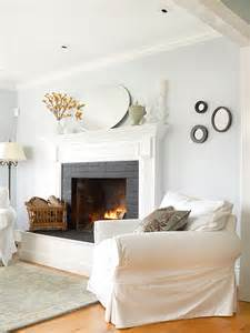 How To Paint An Old Brick Fireplace by Paint That Old Brick And Re Vitalize Your Fireplace