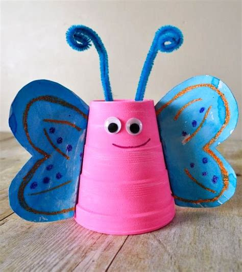 paper cup crafts for paper cup craft animal and craft projects