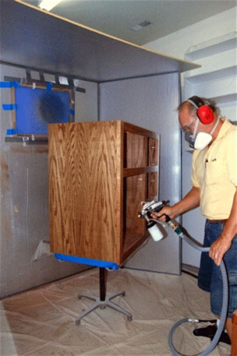 woodworking spray booth link of the week a home made spray booth tom s workbench