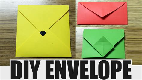 how do you make an origami envelope origami envelope without glue comot