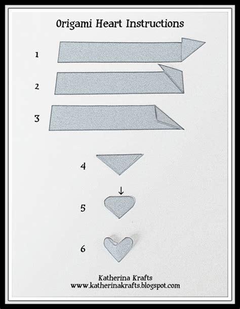 small origami hearts katherina krafts on how to fold origami hearts